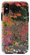 October Watercolors_3 IPhone X Tough Case