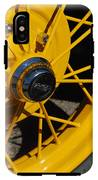 Old Car Wheel IPhone X Tough Case