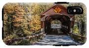 Old Covered Bridge Vermont IPhone X Tough Case