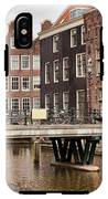 Old Town In Amsterdam IPhone X Tough Case