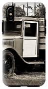 Old Wine Truck Malibu IPhone X Tough Case