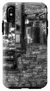 Ole Smoky Tennessee Moonshine In Black And White IPhone X Tough Case