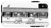 One Buddhist Monk Asks Another While Meditating IPhone X Tough Case