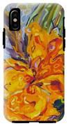 Orange Cannas IPhone X Tough Case