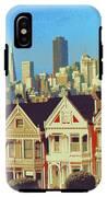 Alamo Square San Francisco - Digital Art IPhone X Tough Case