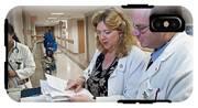 Palliative Nurse And Doctor IPhone X Tough Case