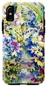 Pansy Path IPhone X Tough Case