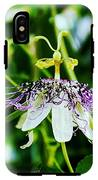 Passion Flower IPhone X Tough Case