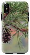 Peaceful Pinecone IPhone X Tough Case