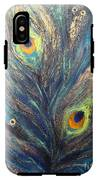Peacock Eyes IPhone X Tough Case