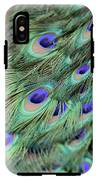 Peacock Feathers IPhone X Tough Case