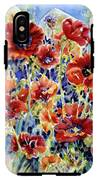 Picket Fence Poppies IPhone X Tough Case