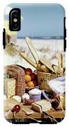 Picnic Display On The Beach IPhone X Tough Case