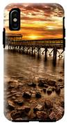 Pier At Smith Mountain Lake IPhone X Tough Case