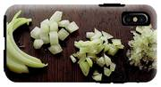 Piles Of Raw Onion IPhone X Tough Case