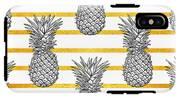 Pineapple Tropical Vector Seamless IPhone X Tough Case