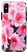 Pink Azalea In Bloom IPhone X Tough Case