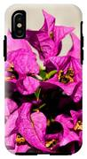 Pink Bougainvillea Classical IPhone X Tough Case