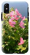 Pink Flowers By The Lake IPhone X Tough Case