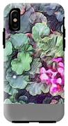 Pink Flowers Painting IPhone X Tough Case