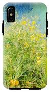 Playing In The Breeze IPhone X Tough Case