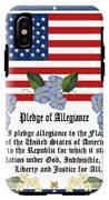 Pledge Of Allegiance IPhone X Tough Case
