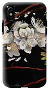 Plum Blossoms And Anna's Hummingbird IPhone X Tough Case