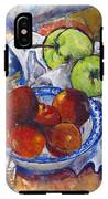 Plums Apples IPhone X Tough Case