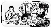 Police Detectives Search Through A Table IPhone X Tough Case