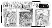 Pollyanna In Hell IPhone X Tough Case