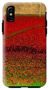 Poppies For The Fallen IPhone X Tough Case
