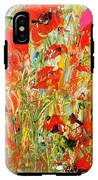 Poppies In The Sun IPhone X Tough Case