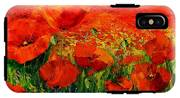Poppies IPhone X Tough Case