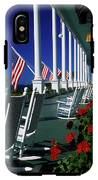 Porch Of The Grand Hotel, Mackinac IPhone X Tough Case