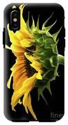Portrait Of A Sunflower IPhone X Tough Case