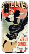 Poster For Le Bal Bullier. Meunier, Georges 1869-1942 IPhone X Tough Case