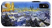 Prague After Snow Fall IPhone X Tough Case