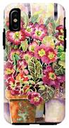 Primroses In Pots IPhone X Tough Case