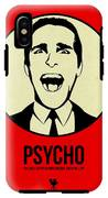 Psycho Poster 1 IPhone X Tough Case