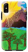 Purple Mountains Majesty IPhone X Tough Case