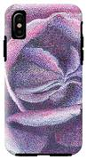 Purple Rose 2-14 IPhone X Tough Case