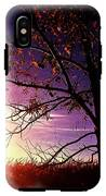 Purple Skies And Walnut Trees IPhone X Tough Case