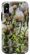 Purple Thistle IPhone X Tough Case