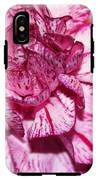 Purple Tiger Rose IPhone X Tough Case