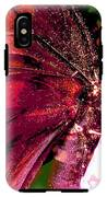 Purple Wings Two IPhone X Tough Case