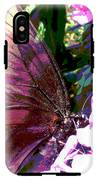 Purple Wings IPhone X Tough Case