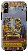 Radha Krishna Bhojan Lila IPhone X Tough Case