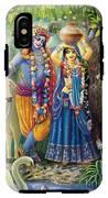 Radha-krishna Radhakunda IPhone X Tough Case
