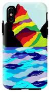 Rainbow Mountain IPhone X Tough Case