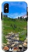 Rainier's Meadows IPhone X Tough Case